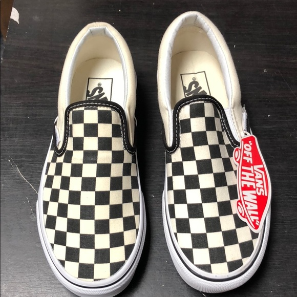 4588e12a41d1d4 Vans Checkerboard Slip on size 6 women 4.5 men